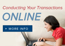 Conducting Your Transactions Online Brochure