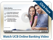 UCB Online Banking Video