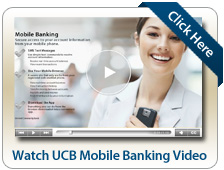 Watch UCB Mobile Banking Video