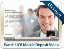 Watch UCB Mobile Deposit Video