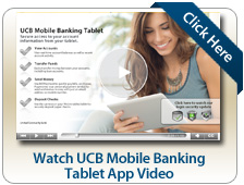 Watch UCB Mobile Banking Tablet App Video
