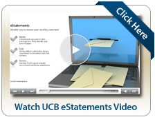 Watch UCB eStatements Video